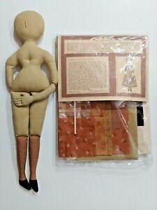 Gail Wilson Kit # 7 Cloth Doll with Bonnet