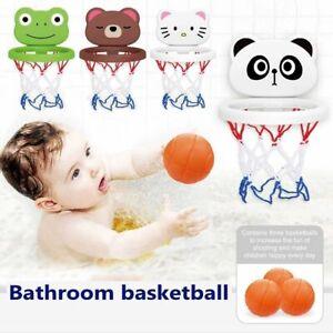 Baby Shooting Baskets Bathtub Water Play Set Basketball Backboard with 3 Balls