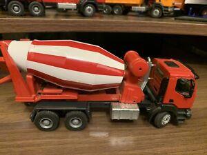 1:50 Joal Camion betoniera Renault col. Rosso -3 assi 6x4 - die cast -custom