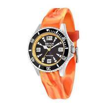 Orologio SECTOR 230 R3251161022 Uomo Silicone Arancione Nero Sub 100mt