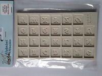 Alphabet Moulds Baby Block Font Alphabet silicone Sugarcraft Mould FAST DESPATCH