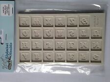 Alphabet Moulds Baby Block Alphabet silicone Sugarcraft Mould NEXT DAY DESPATCH