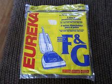 Genuine EUREKA Type F & G Vacuum Cleaner Bags Fits Upright Models 3 Pack 52320A