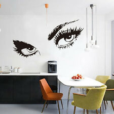 STickeRs Audrey Hepburn's Eyes Silhouette Wall Sticker Decals Home Decor Excelle