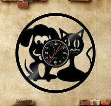 Orologio disco vinil clock orologio da parete cane gatoo  2