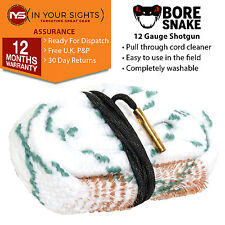 Bore Snake 12 Gauge shotgun barrel cleaner cleaning kit rope 12GA boresnake
