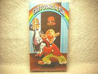 CARTOONS R FUN - EGGHEAD HAMATEUR NIGHT - VHS - 1989 - NEW SEALED