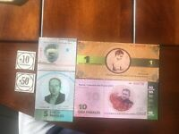 VeneZUELA 5  New PANALES  CARACAS Comunal Notes Unc