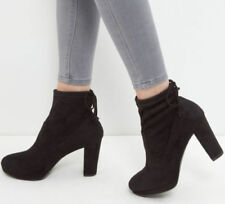 High Heel (3-4.5 in.) Pull On Plus Size Boots for Women
