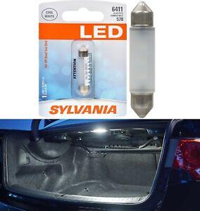 Sylvania Premium LED Light 6411 White 6000K One Bulb Trunk Cargo Replace Stock