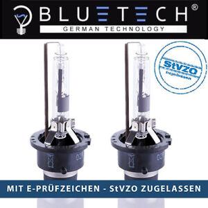 2x D2R BLUETECH® DIAMOND BLUE Xenon Brenner mit 6000° Kelvin und Zulassungsfrei