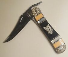 Custom Painted Pony Designs Michael Prater Case & Sons Hand-Crafted Knife 1 of 1