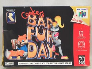 Conker's Bad Fur Day (Nintendo 64 | N64) Authentic BOX ONLY
