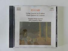 CD Elgar String Quartet in E minor Piano Quintet in A minor Maggini String