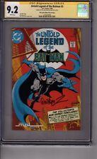 Untold Legend of Batman #3 MPI Audio Version CGC 9.2 SS *Jose Luis Garcia-Lopez*