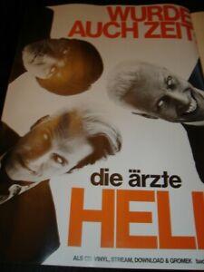 Die Ärzte Werbung A4 Bericht Report NEW German