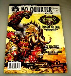 No Quarter Magazine #11 Warmachine Hordes Privateer Press...