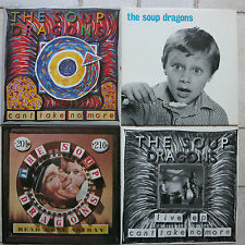 SOUP DRAGONS 4 x Can't Take No More (Studio/Live) Head Gone Astray Whole Wide W