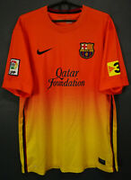 MENS NIKE FC BARCELONA 2012/2013 AWAY SOCCER FOOTBALL SHIRT JERSEY MAGLIA SIZE L