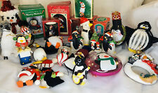 Penguin Lover Lot of 25 Christmas Ornaments