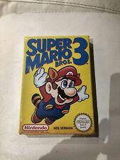 Super Mario Bros 3 Nintendo Nes - Nes Version- New Sealed