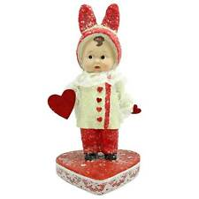 Valentine's Day Romeo Amor Boy Figurine Home Vintage Style Decor Margaret Haire