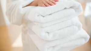 2x Extra Large Super Jumbo Bath Sheets 100% Cotton Antibacterial Luxury Towels