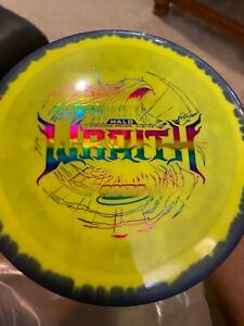 Innova Halo Wraith with Purple Rim and Yellow Center.  Rainbow Stamp.  New 170G!