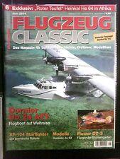 Flugzeug CLASSIC  Juni 2004    in Schutzhülle