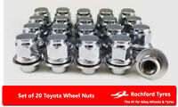 Original Style Wheel Nuts (20) 12x1.5 Nuts For Toyota Land Cruiser [J90] 96-06