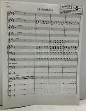 Babylon 5 Main Theme Sheet Music Original Copy Used In Studio SheetNoteMusic.com