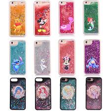 2018 Cartoon Disney Liquid Glitter Phone Case For iPhone X XS Max XR 6 7 8 Plus