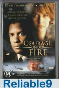 Denzel Washington+Meg Ryan- Courage under fire DVD+Special features R4-1996/2001