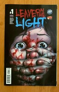 LEAVE ON THE LIGHT #1 Main Cover  Anarctic Press 2019 NM+
