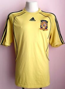 Spain 2008 - 2010 Away football Adidas shirt L