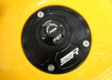 Ducati Monster 750 S2R S4 S4R Push Release Fuel Gas Cap Black Billet Aluminum