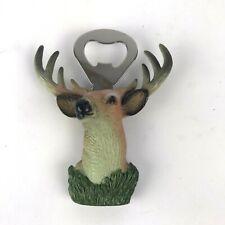 Metal Deer Bottle Opener Antlers Beer Rustic Nature Hunter Lodge