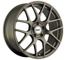 18x8 TSW Nurburgring 5x100 +45 Matte Bronze Rims Fits Celica Impreza Wrx