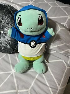 Build A Bear Pokemon Squirtle Plush Toy