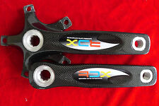 BMX Bicycle RDX Full Carbon Fiber Crankset Crank Arms Standard 175mm 10 Spline