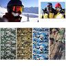 Camo Tube Scarf Headband Face Mask Warmer Bandana Multi-Function Headwear Gift