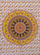 Wall Poster Tapestry Round Mandala Decor Indian Wall Hanging Bohemian Hippie Art
