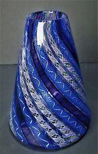Ernest Paterno Original Studio Art Glass Vase Signed 1999 Museum Quality Vintage