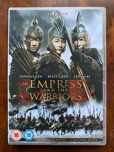 Empress and the Warriors DVD 2008 Chinese Action Movie Epic 2- Disc CineAsia
