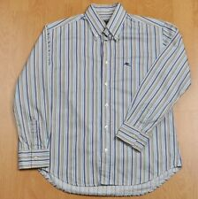 Boy's ETRO Cotton Multicoloured Striped Long Sleeve Casual Shirt Size 10 Years