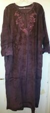 Betterware Embroidered Velveteen Kaftan size L - XL