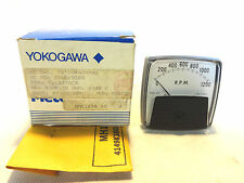 NEW YOKOGAWA 7VTGS047AM02 0-1200 R.P.M. PANEL METER