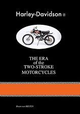 BOOK ´HARLEY-DAVIDSON - THE ERA OF THE TWO-STROKE MOTORCYCLES'  incl. AERMACCHI
