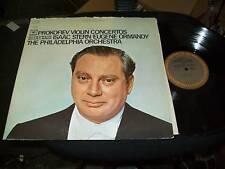 PHILADELPHIA ORCH-PROKOFIEV VIOLIN CONCERTOS-LP