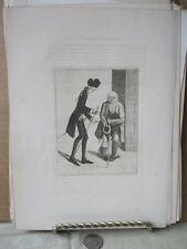 Vintage Print,HUGO ARNOT+GINGERBREAD JACK,Caricatures,John Kay,1837